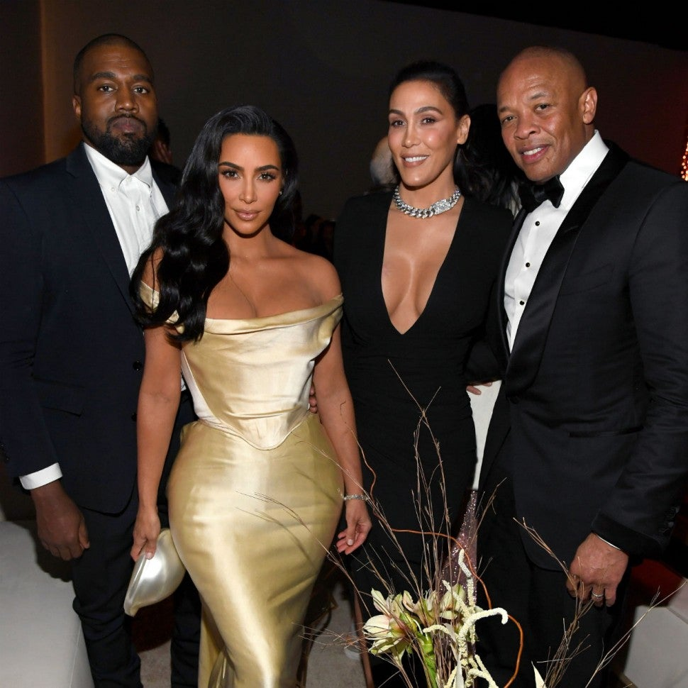 Kanye West, Kim Kardashian West, Nicole Young, Dr. Dre