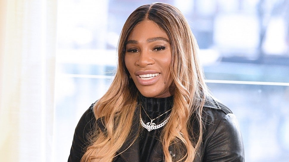 Designer Serena Williams speaks during the S By Serena Presentation during New York Fashion Week: The Shows at Spring Place on February 12, 2020 in New York City.