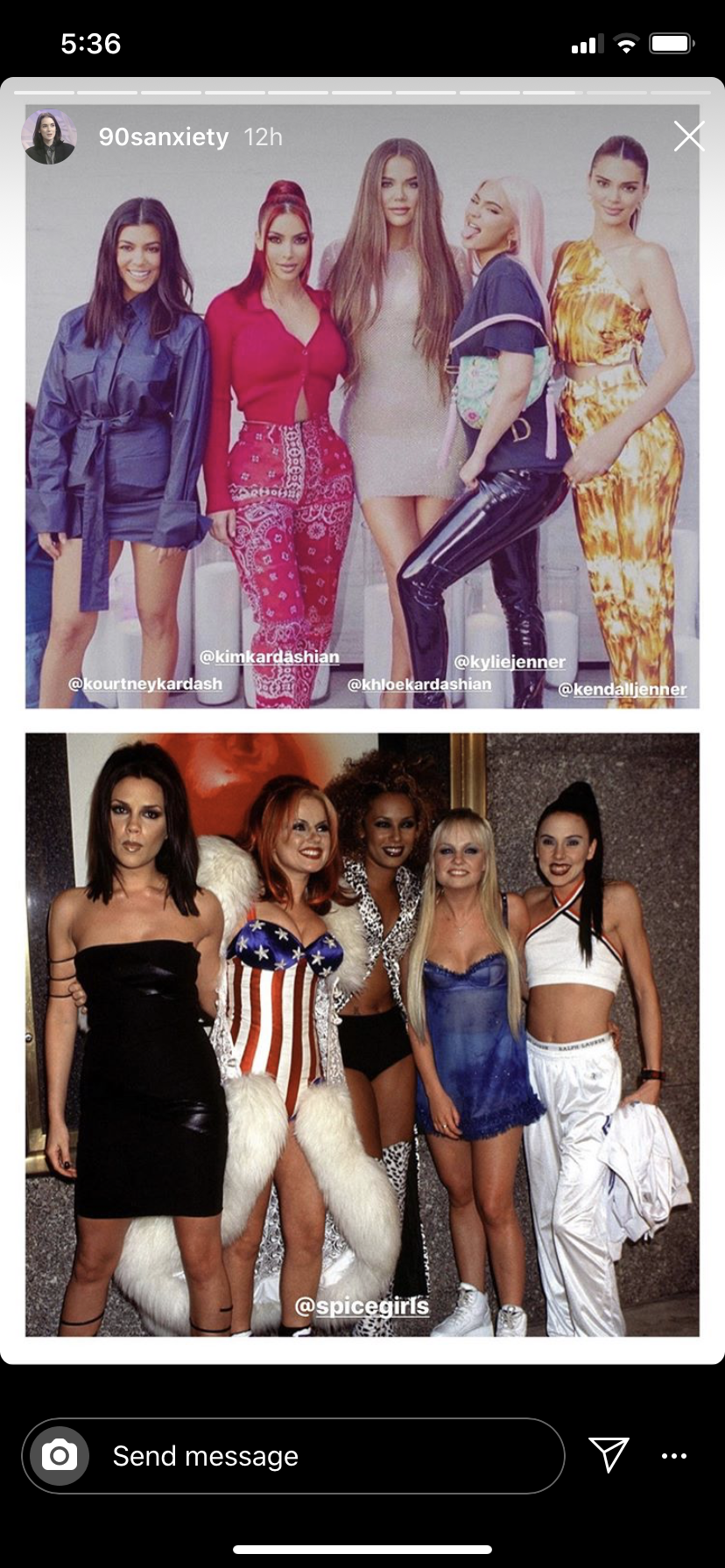 Kardashian-Jenners and the Spice Girls