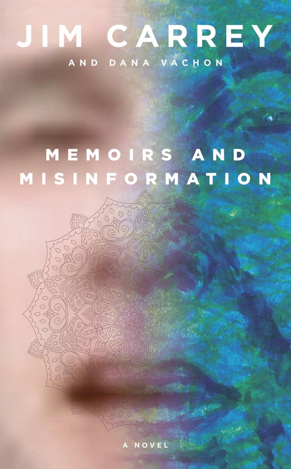 jim carrey book memoirs and misinformation