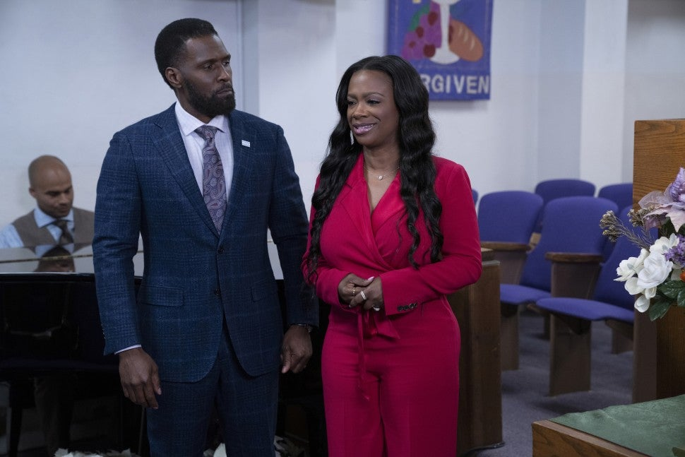 Kandi Burruss on 'The Chi.'