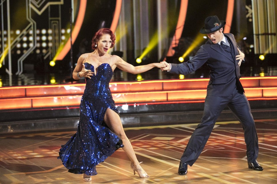 funny  funny news Nick Carter and Sharna Burgess DWTS