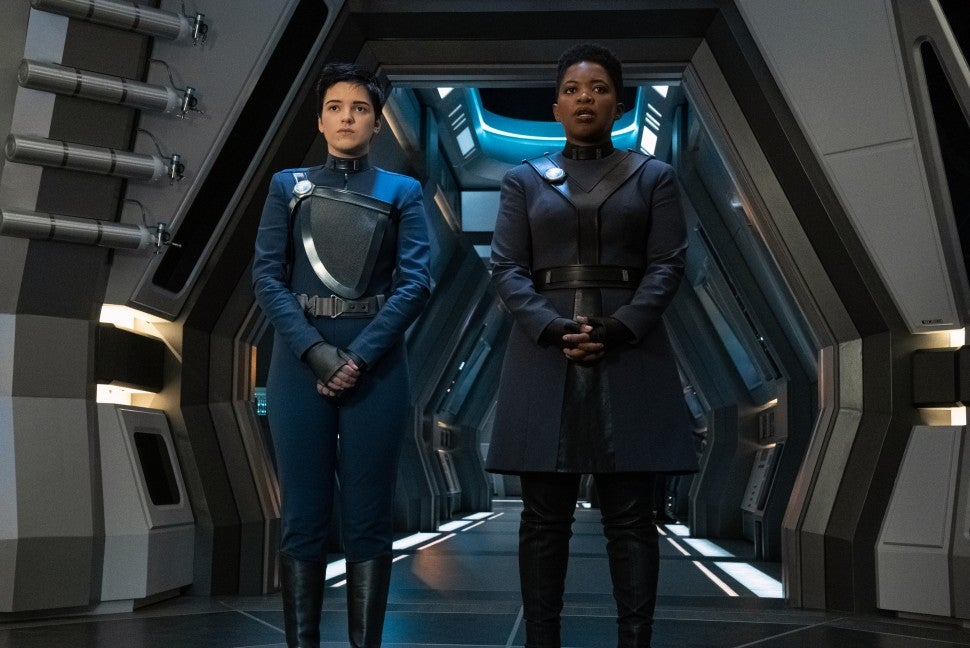 Blu del Barrio as Adira in Star Trek Discovery