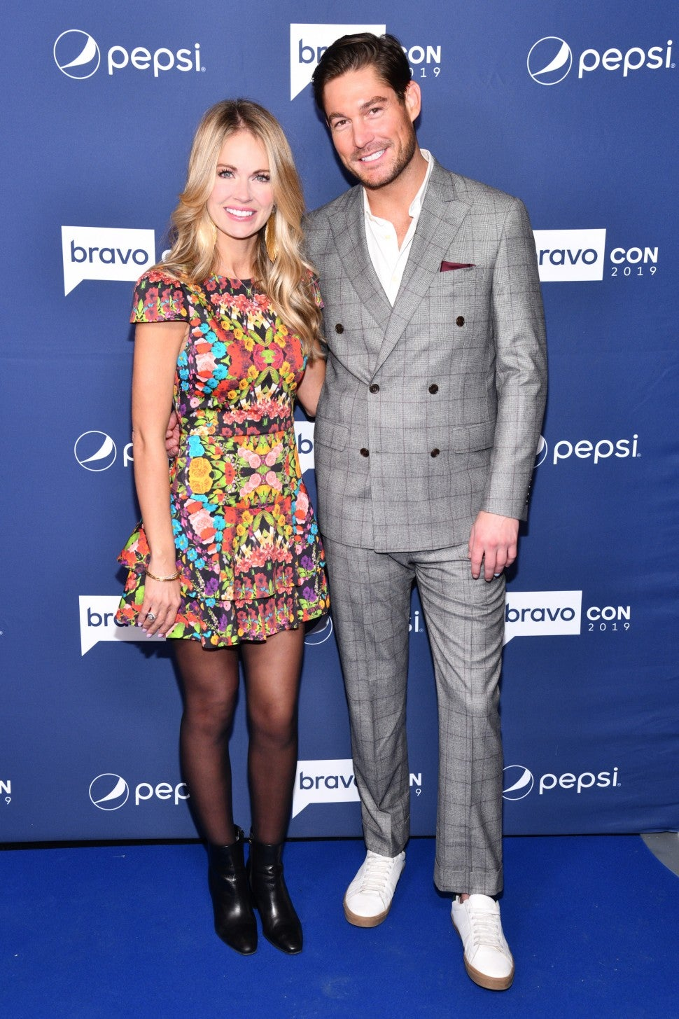 Cameran Eubanks and Craig Conover attend BravoCon 2019.