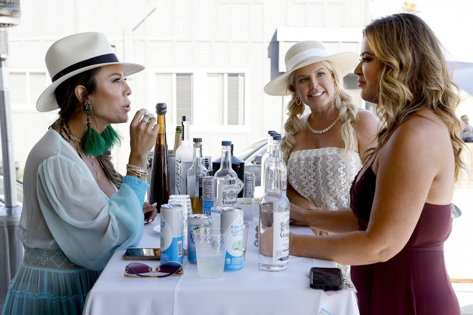 Kelly Dodd, Elizabeth Lyn Vargas and Emily Simpson on Bravo's 'The Real Housewives of Orange County.'