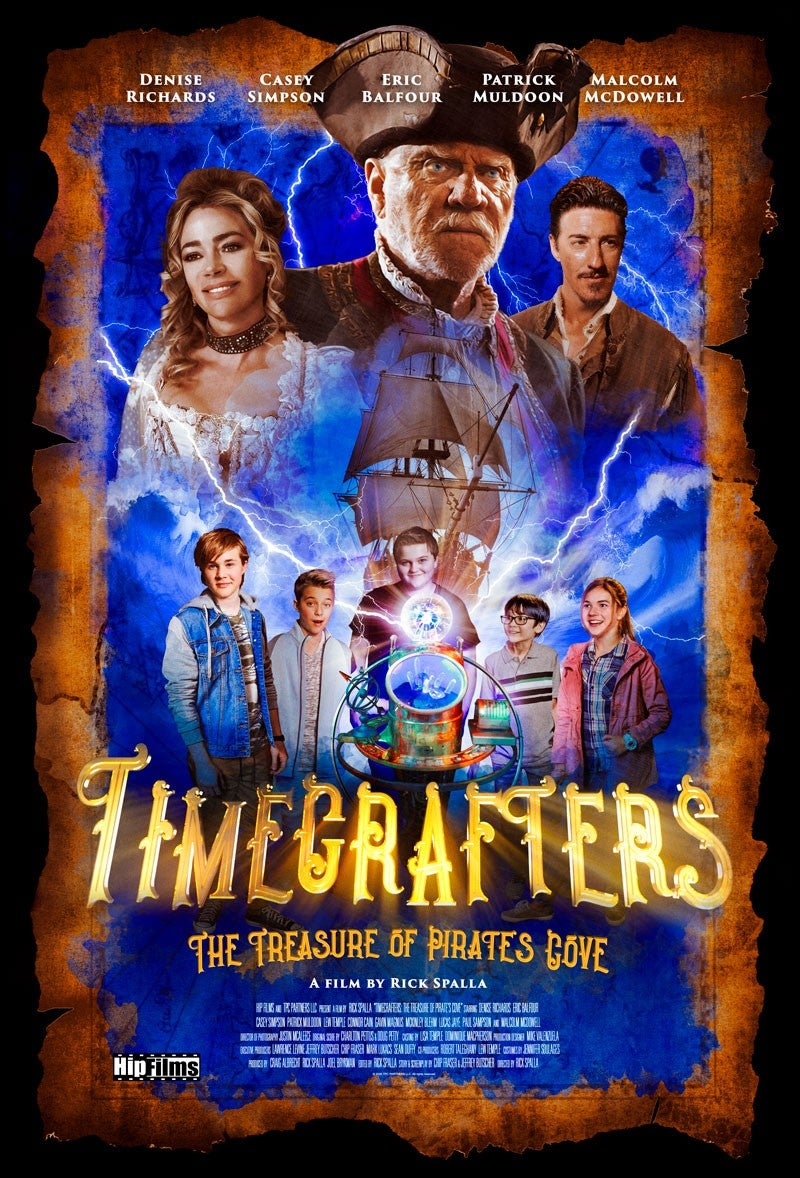 Denise Richards stars in 'Timecrafters: The Treasure of Pirate's Cove.'
