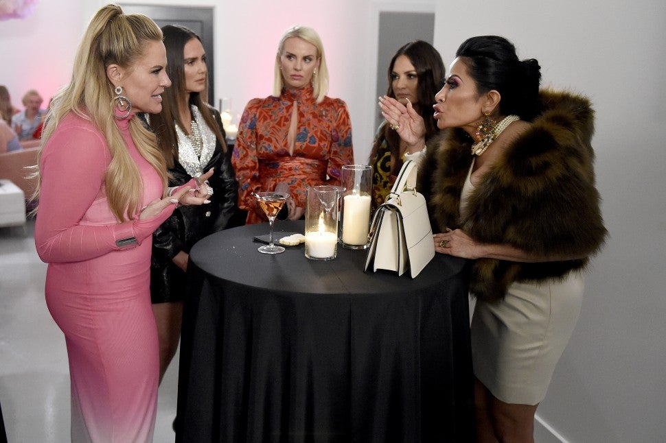 'The Real Housewives of Salt Lake City' cast gets into it on their debut season.