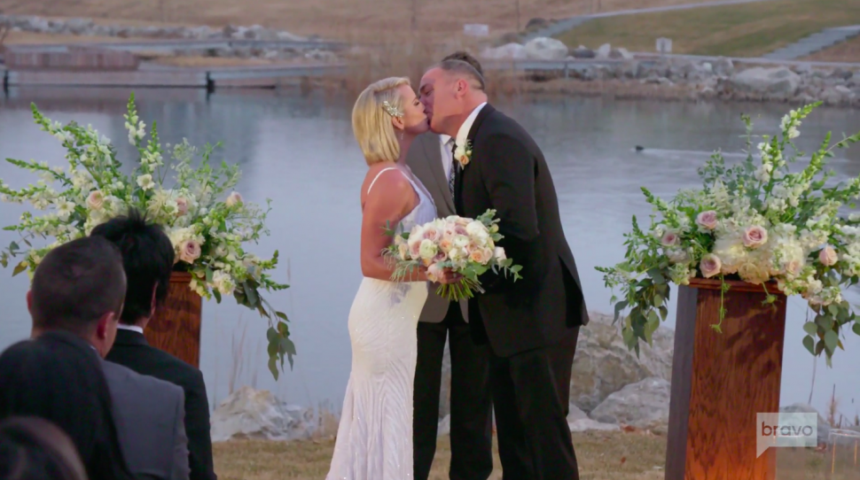 Whitney Rose and her husband, Justin, renew their vows on the series premiere of 'The Real Housewives of Salt Lake City.'