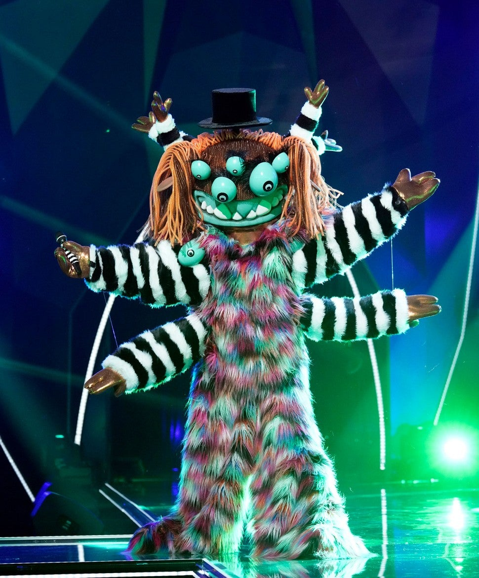 Squiggly Monster on 'The Masked Singer'