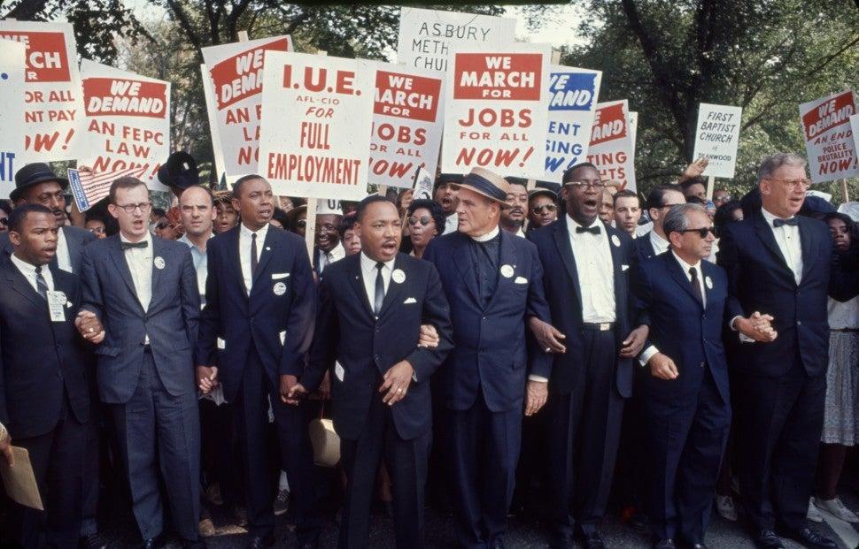 March on Washington - Martin Luther King, Jr, John Lewis