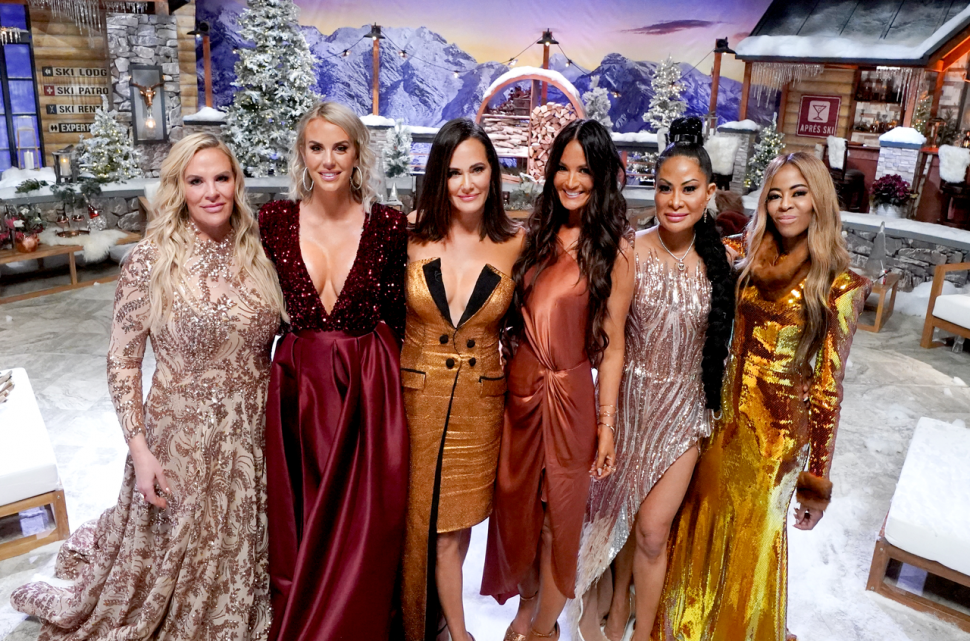 'The Real Housewives of Salt Lake City' season 1 cast at their reunion.