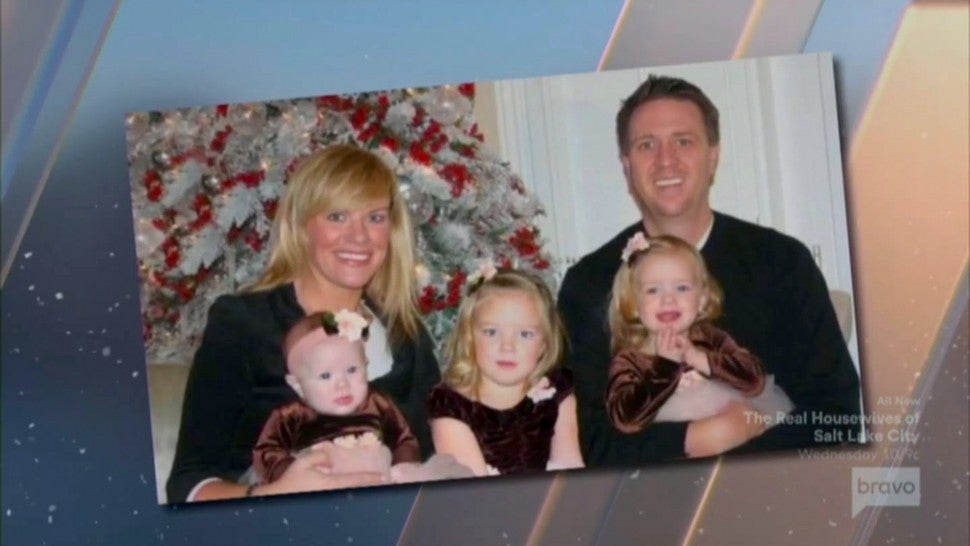 Heather Gay, her ex-husband Billy and their daughters.