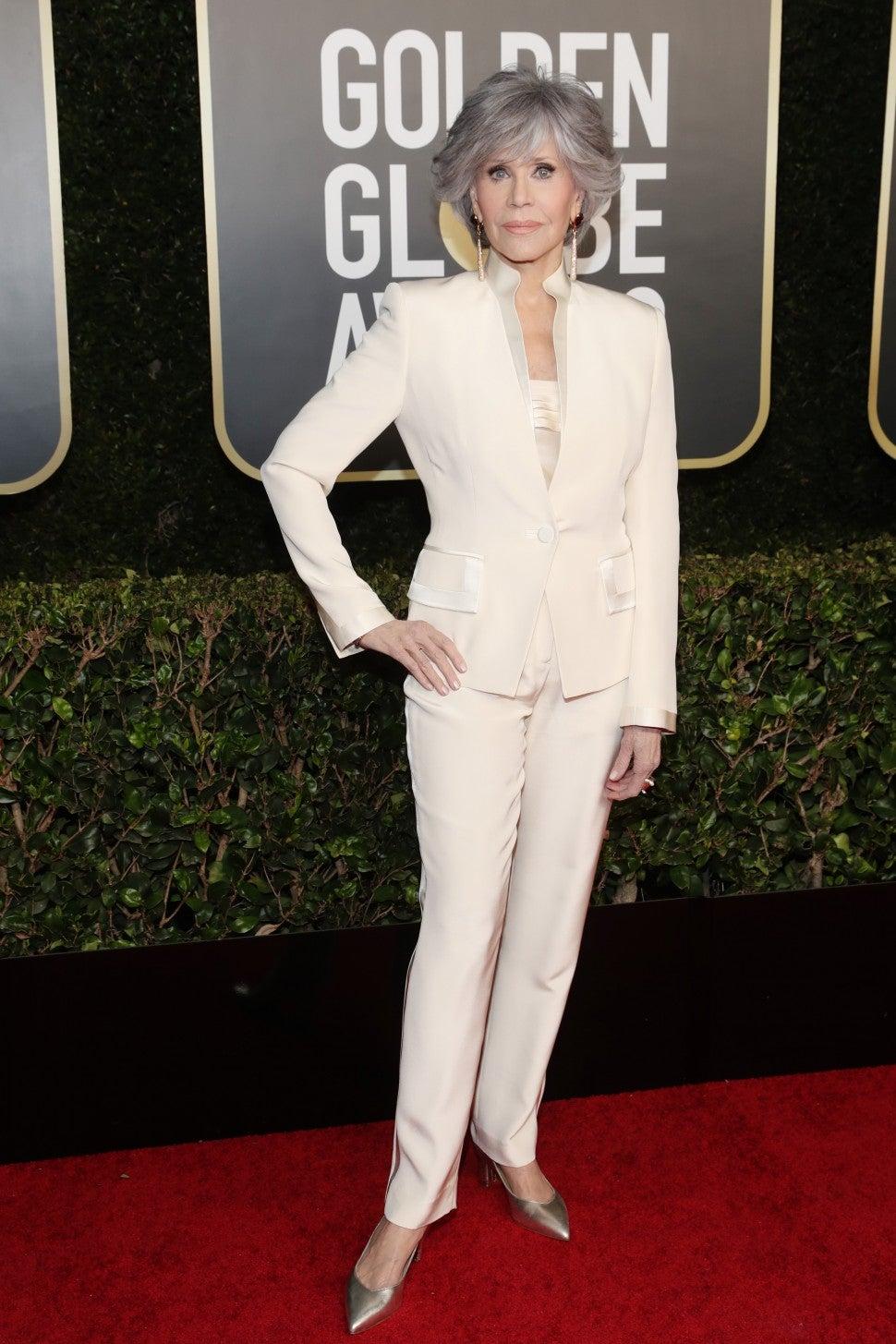 Jane Fonda Globos de Oro 2021