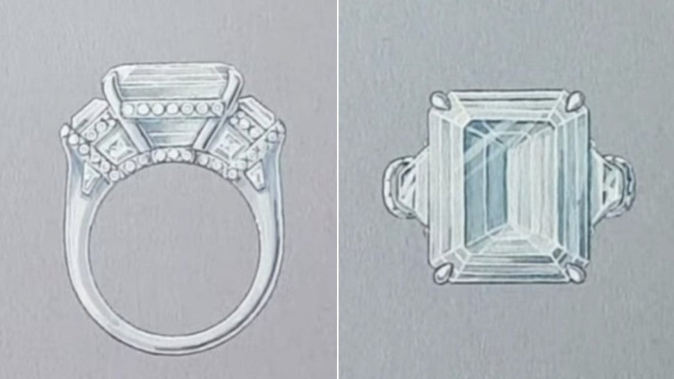 Paris Hilton's ring