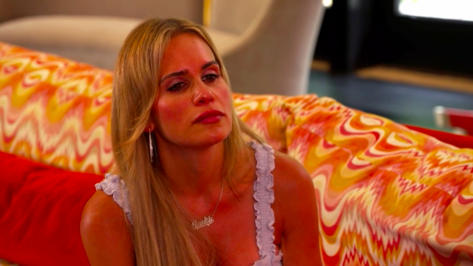 Jackie Goldschneider is left stunned after a sit-down gone wrong with Teresa Giudice on 'RHONJ.'