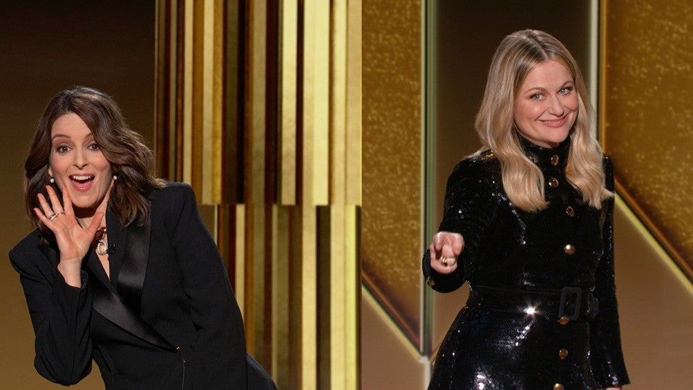 Golden Globes 2021: Amy Poehler and Tina Fey's Must-See Monologue Moments