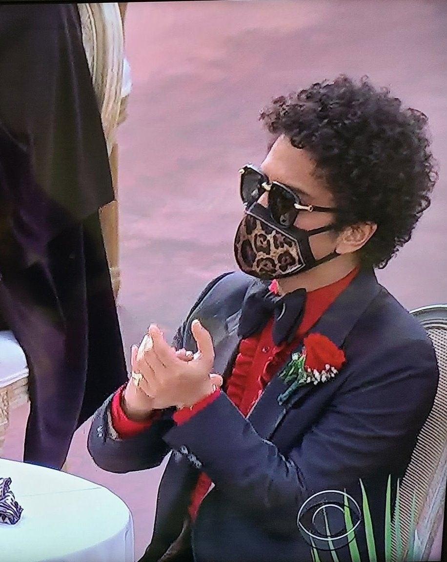 Bruno Mars GRAMMYs 2021
