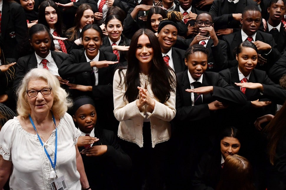 Meghan Markle 2020 Robert Clark School