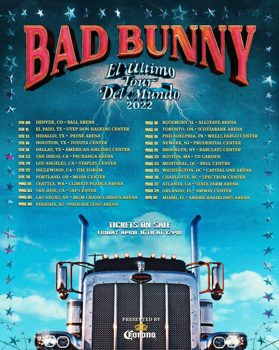 Bad Bunny Tour