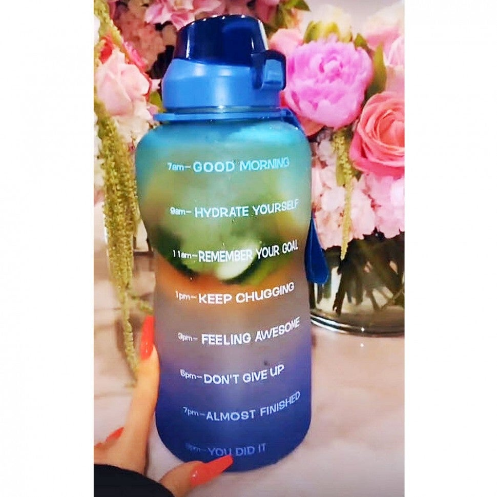 khloe kardashian amazon water bottle