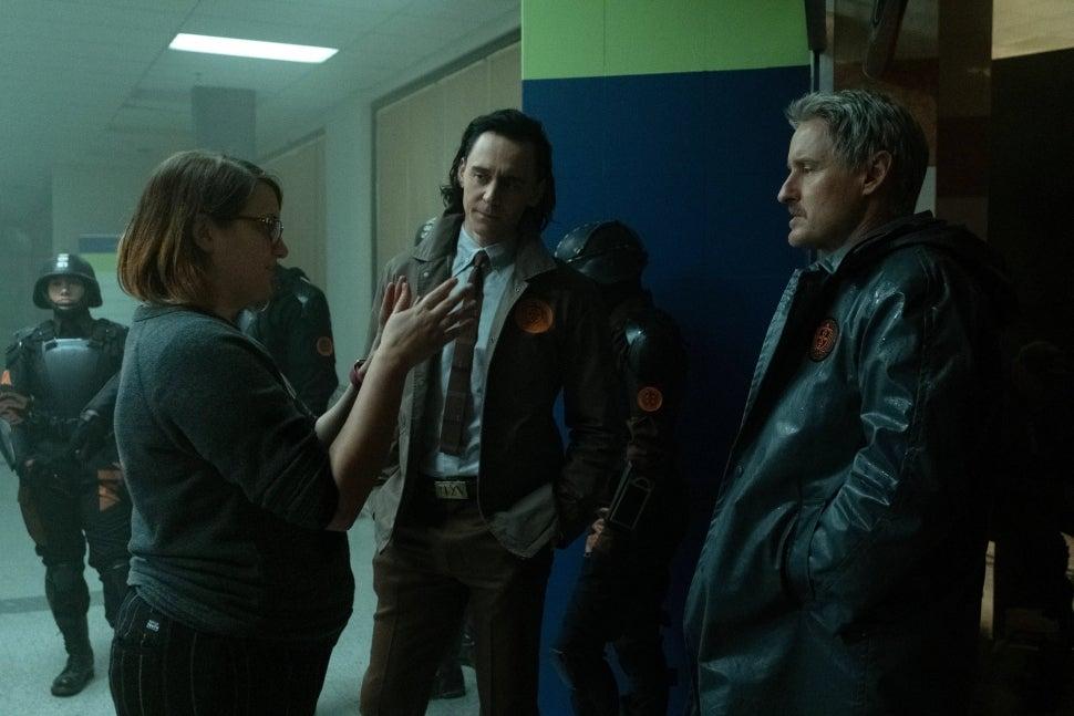 Loki' creators discussing the time travel.