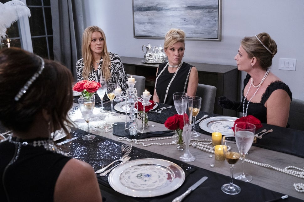 Leah McSweeney confronts Heather Thomson on The Real Housewives of New York City