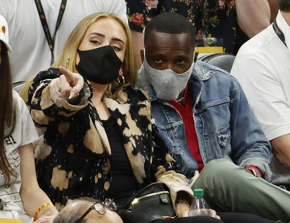 Adele 'Seemed Very Happy' With Rich Paul at NBA Final Game ...