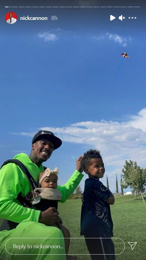 Nick Cannon Kite Flying