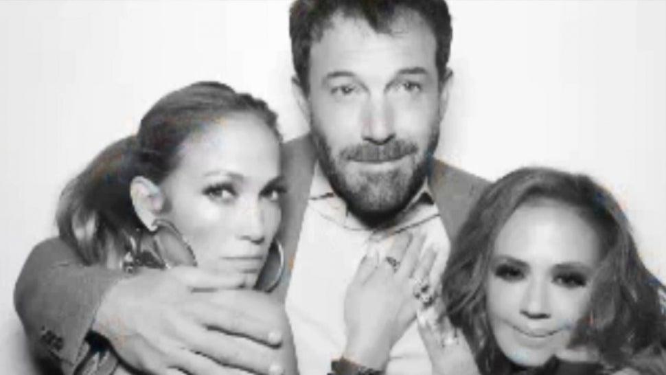 Jennifer Lopez Kisses Ben Affleck in Bikini Amid Dating Rumors