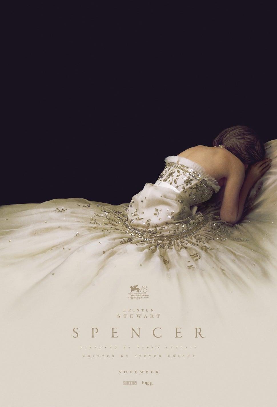 'Spencer' movie poster