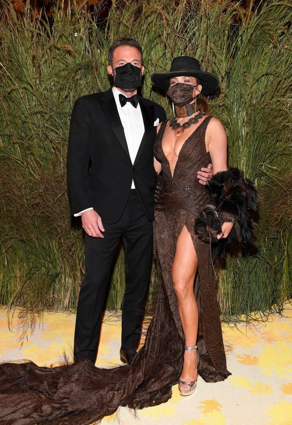 Ben Affleck Jennifer Lopez 2021 Met Gala