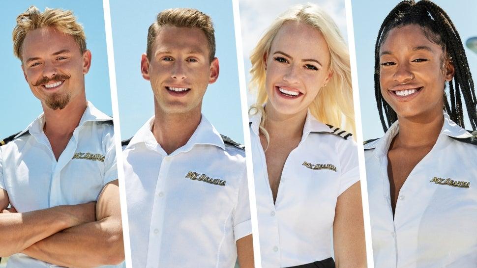 Crew members from Below Deck season 9