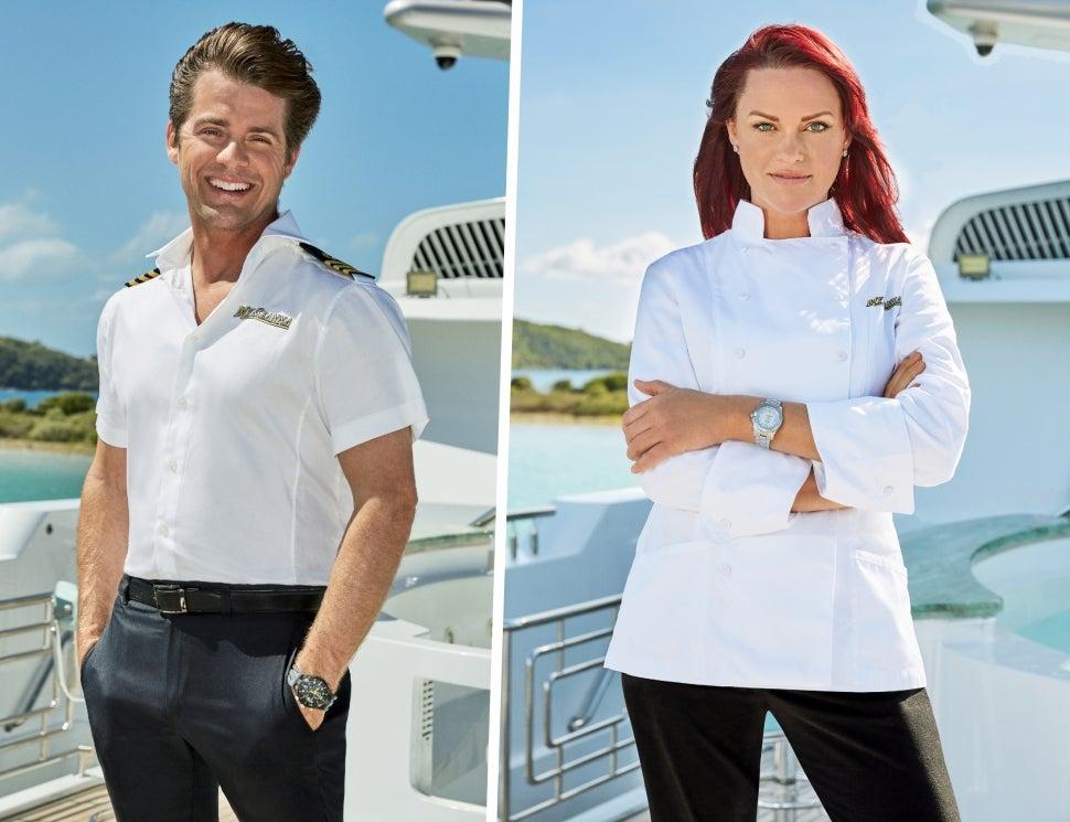 Eddie Lucas and Rachel Hargrove return for Below Deck season 9