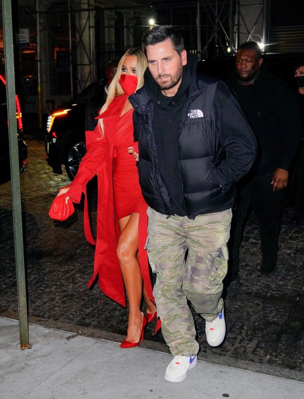 Khloe Kardashian and Scott Disick