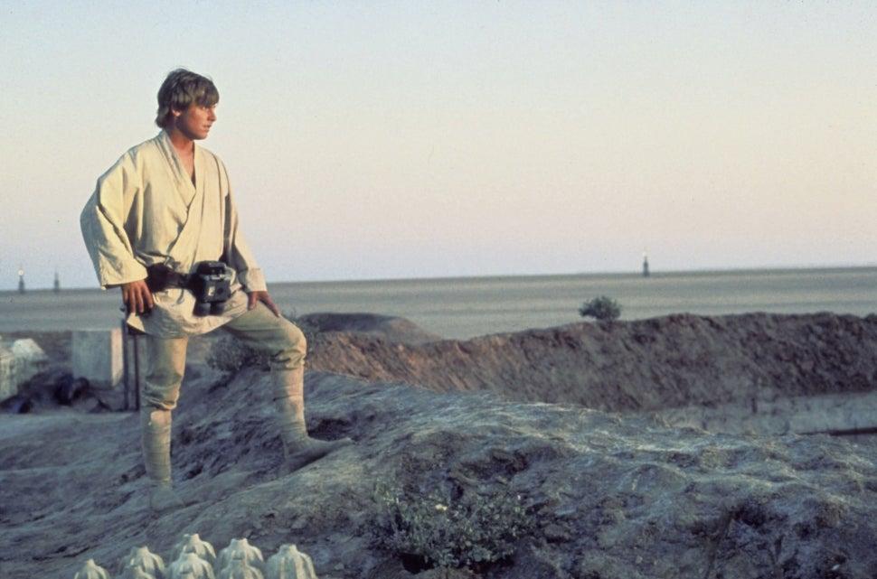 Mark Hamill in 'Star Wars.'