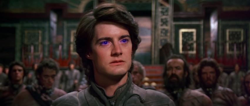 Kyle MacLachlan as Paul in 'Dune.'