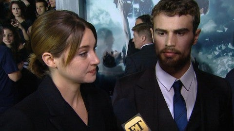 Engaged and shailene james woodley theo Who is