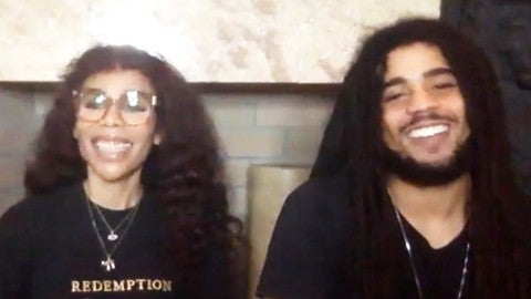 Bob Marley S Family Shares Why They Decided To Remake One Love During This Historic Time Exclusive Entertainment Tonight