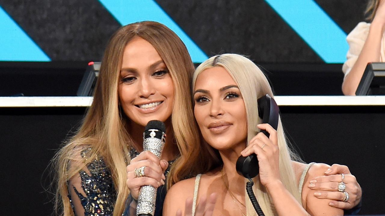 Kim Kardashian Attends Jennifer Lopez\'s Taco Dinner -- See Their ...