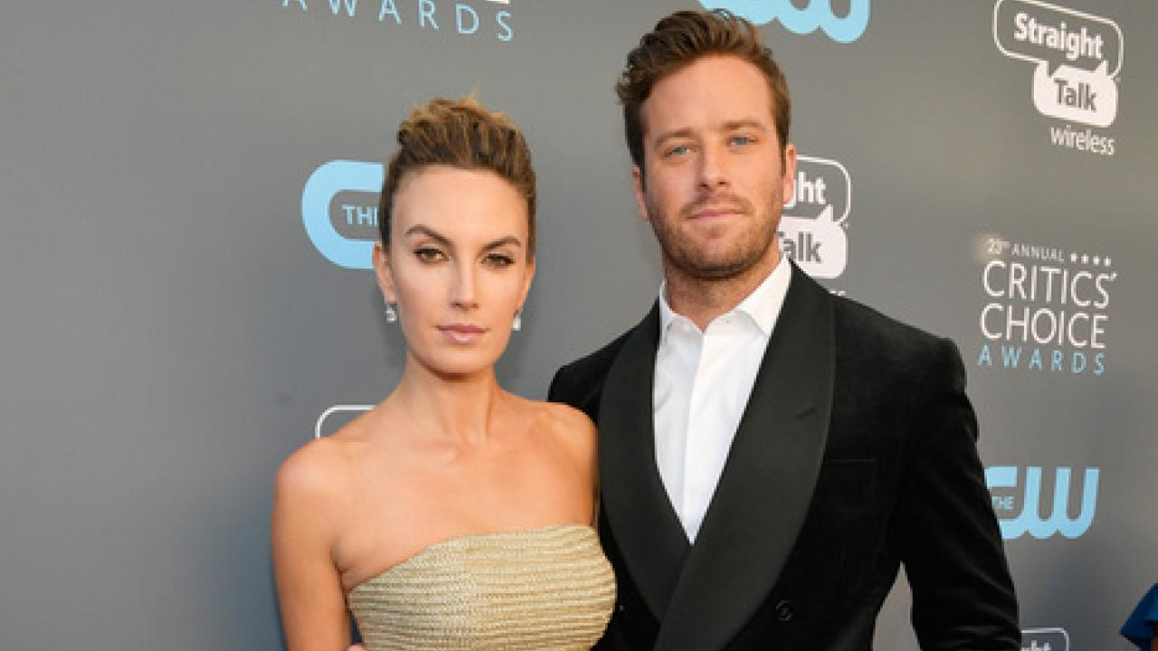 Armie Hammer and Wife Elizabeth Chambers Say Awards Shows ...