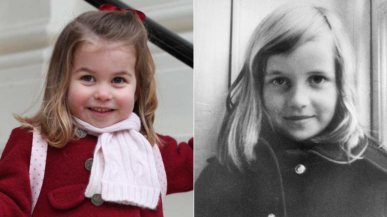 Princess Charlotte And Princess Diana Share Striking