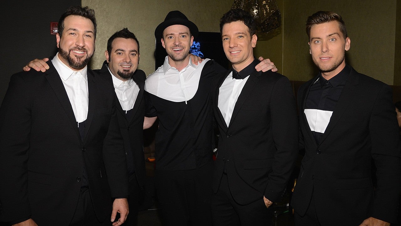NSYNC Reunion: Recording An Album After Picture Goes Viral