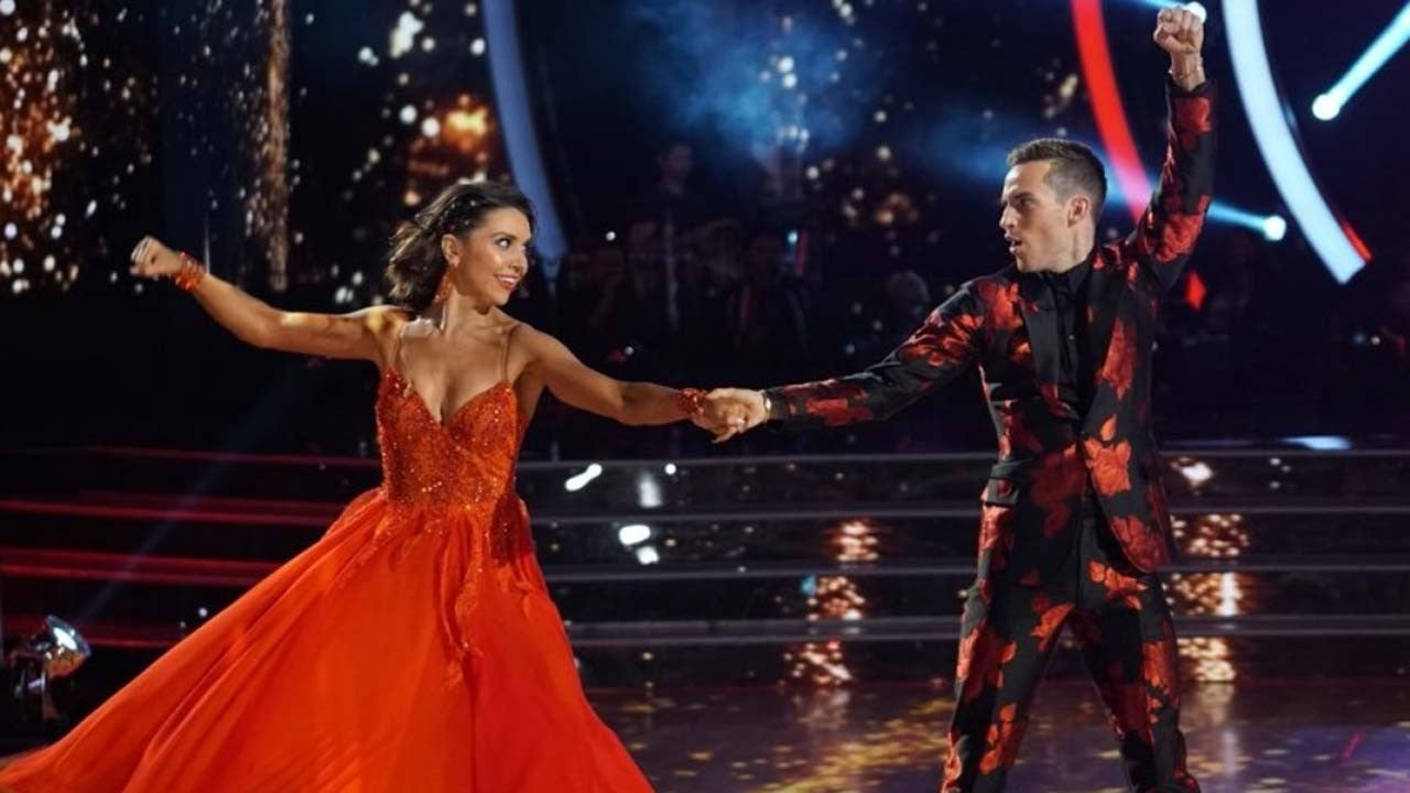 Jenna Johnson Reveals What She's Learned From 'DWTS' Partner Adam Rippon (Exclusive)