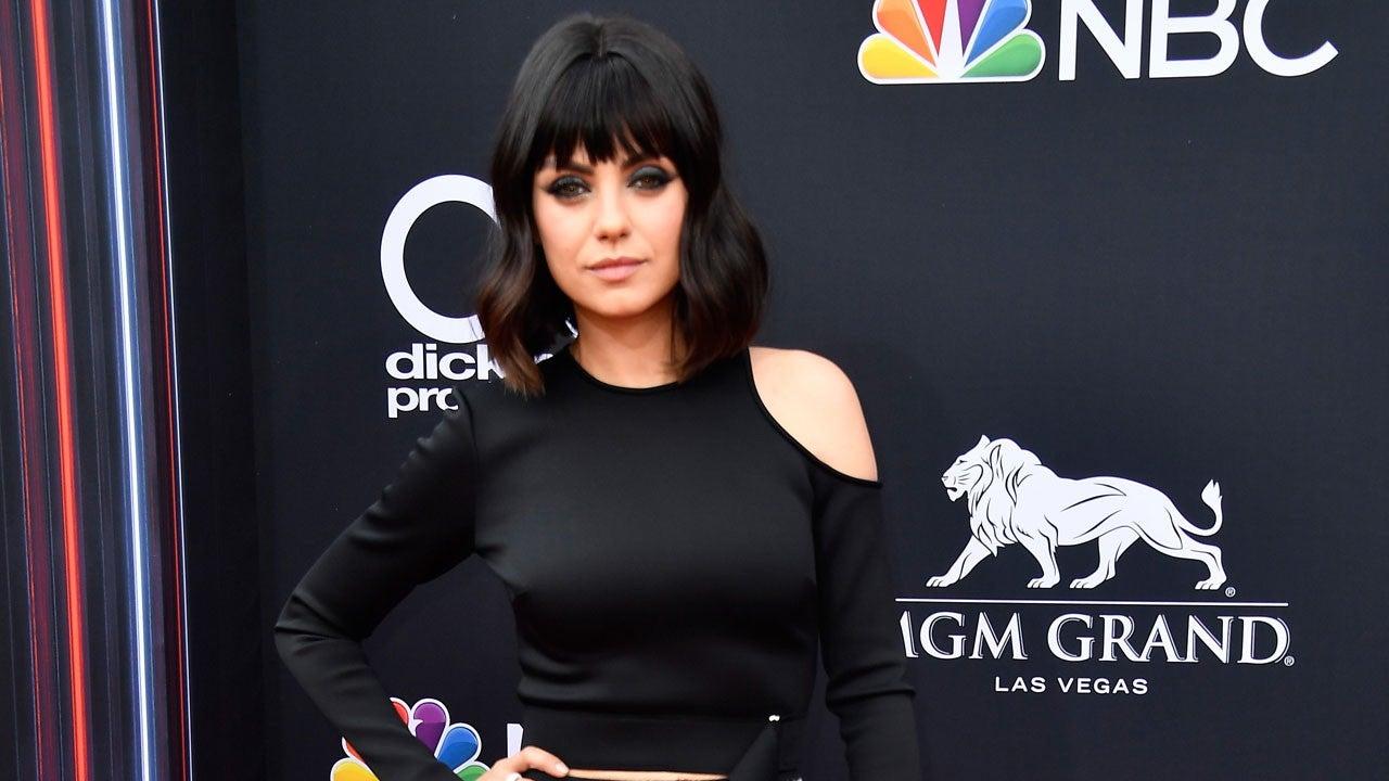 Mila Kunis Debuts a Brand-New Hairstyle at Billboard Music Awards