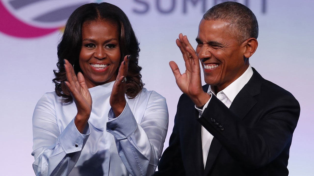 Barack and Michelle Obama spotted dancing at Beyonce and Jay-Z concert
