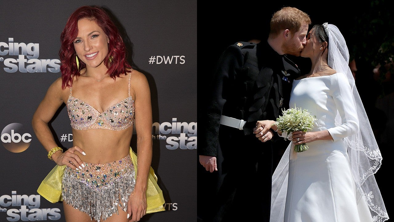 'DWTS' Pro Sharna Burgess Gushes Over 'Fairy-Tale' Royal Wedding: 'It Gives Us Single Girls Hope' (Exclusive)