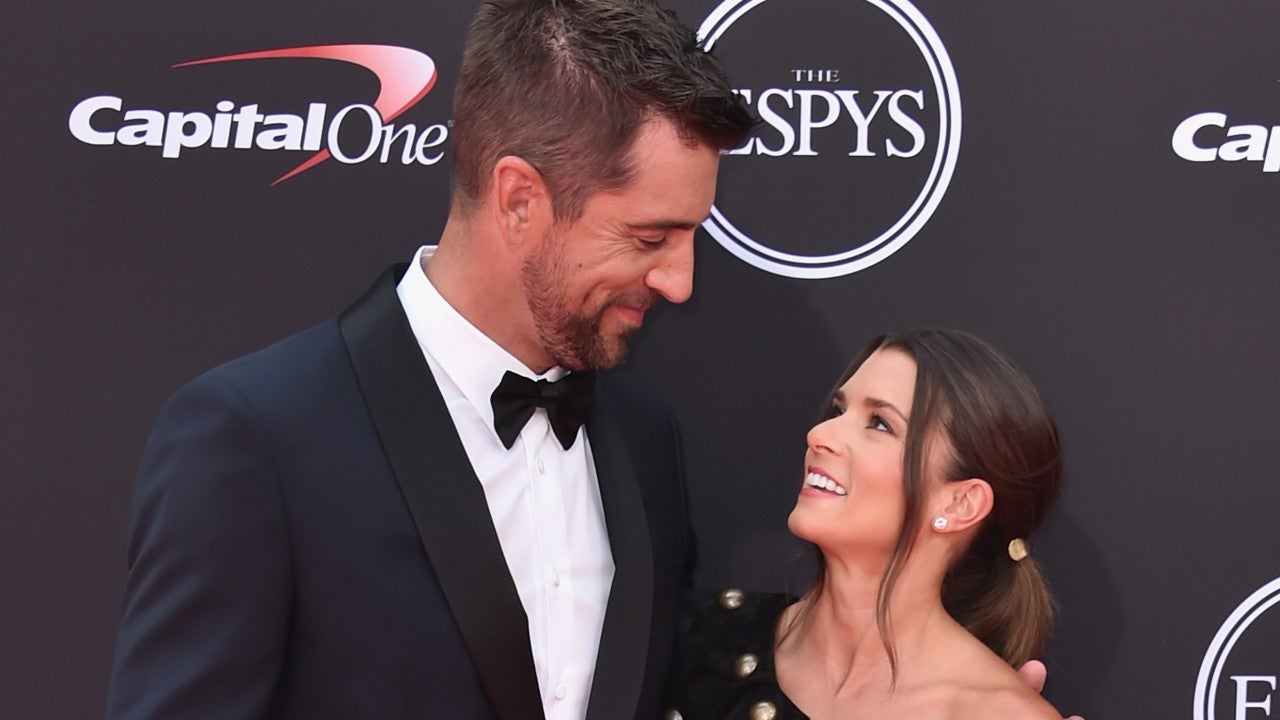 Aaron Rodgers joins Danica Patrick in 'I, Tonya' parody played at ESPYS