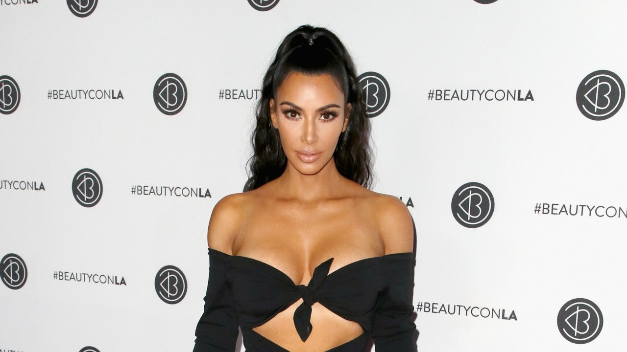 Kim Kardashian enjoys being labelled 'anorexic' by sisters
