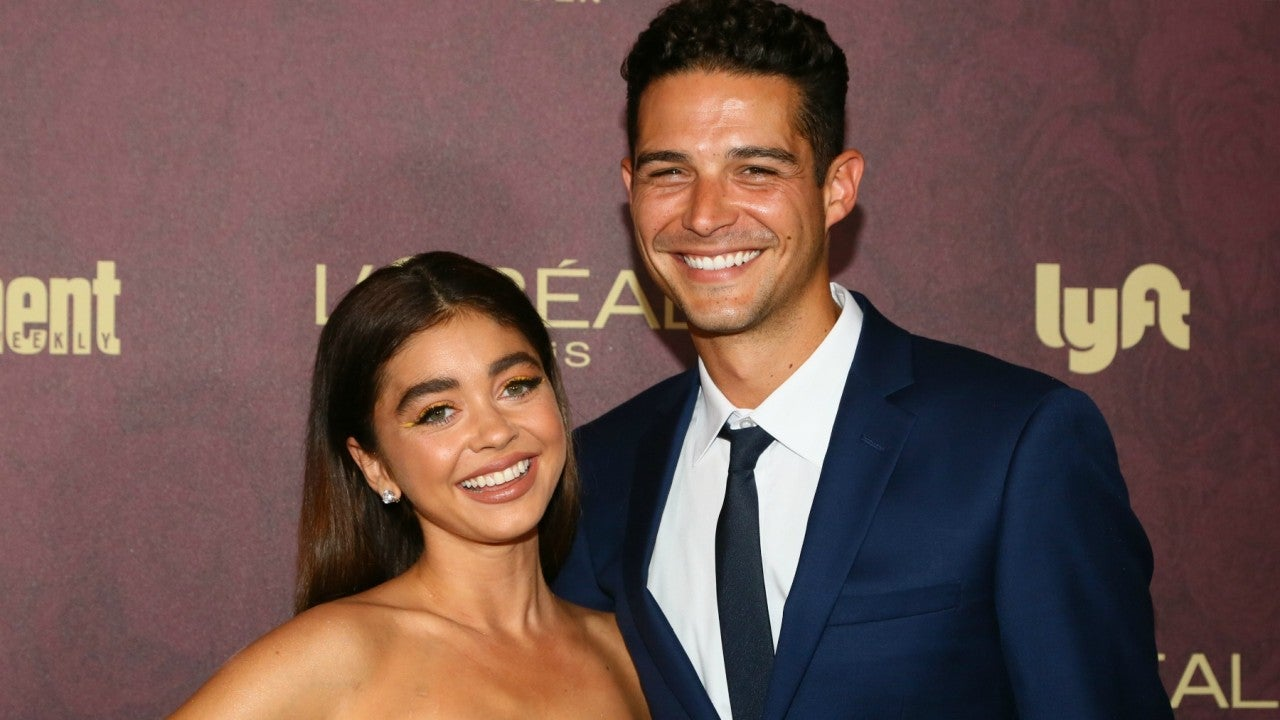 Wells Adams and Sarah Hyland Engaged -- See His Romantic Proposal!
