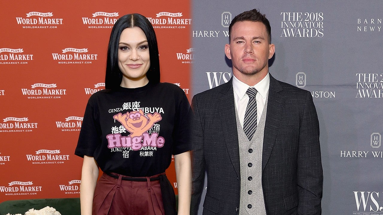 Channing Tatum and Jessie J Enjoy Backseat PDA on Date Night With Friends -- Pics